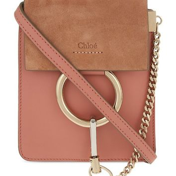 CHLOE - Faye mini bracelet leather shoulder bag | Selfridges.com