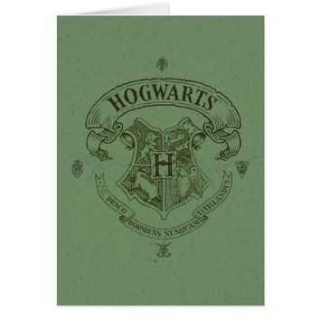 Harry Potter | Hogwarts Banner Crest Card