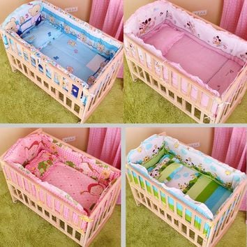 5PCS set baby crib bed set