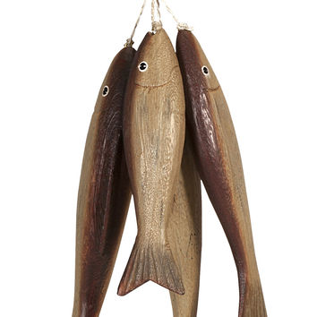Wooden Bundle o' Fish