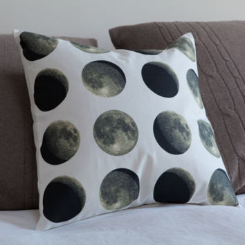Lunar Moon Cycle Cushion