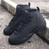 AIR JORDAN 12 BLACK OUT WINTER