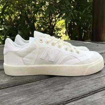 New Balance Pro-Court canvas Trending Fashion Casual Sports Shoes white N
