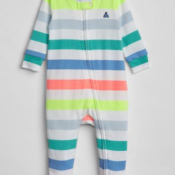 Cuddle & Play Footed One-Piece | Gap