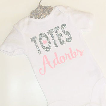 U pick Color Totes Adorbs bodysuit Onesuit girls glitter