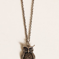 You're a Hoot Owl Necklace - $12.00 : ThreadSence.com, Your Spot For Indie Clothing  Indie Urban Culture
