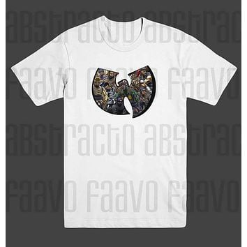 18c4f43ff Wu Tang Clan Method Man Rza Raekwon ODB Hip Hop T Shirt