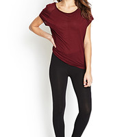 FOREVER 21 PLUS Solid Knit Leggings