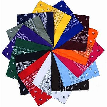 Hot Fashion Handkerchief Scarf Paisley Cute Handkerchief Bandana Head Wrap Neck