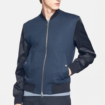 Men's PS Paul Smith Two-Tone Bomber Jacket