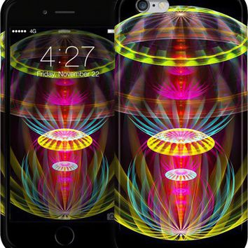 Alien sphere fractal fantasy iPhone Cases & Skins by Natalia Bykova | Nuvango