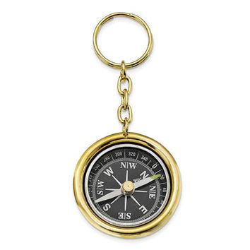 Personalized For Free Compass Keychain Keepsake Anniversary Gift Graduation Gift Compass Gift Engraved Long Distance Relationship Gift