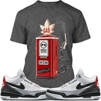 Air Jordan 3s Tinker Sneaker Tees Shirt - GAS PUMP PG