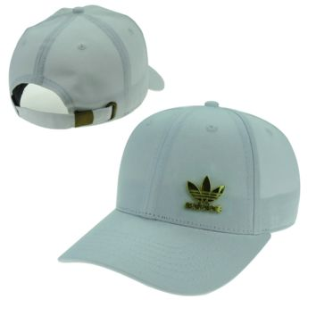 New Light Blue Adidas Logo Embroidered Outdoor Baseball Cap