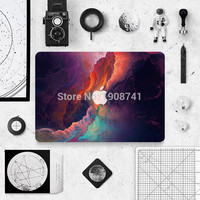 2016 New Colorful Marble Grain Laptop Decal Sticker Case For Apple Macbook Air Pro 11 13 15 Inch Guard Protective Cover Skin