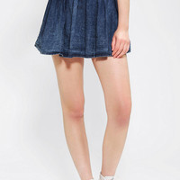 Urban Outfitters - Motel Anna Acid Wash Circle Skirt