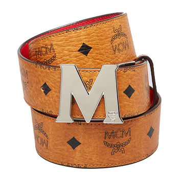 MCM Visetos Reversible Belt