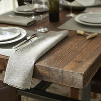 Griffin Reclaimed Wood Fixed Dining Table