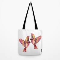 Sparrows Tote Bag by Inspired Images