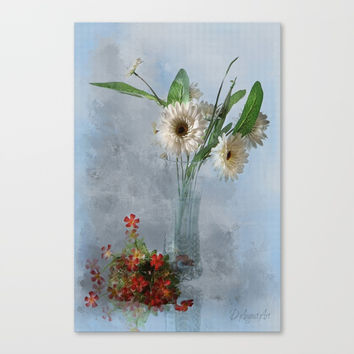 Wildflower Still LIFE Canvas Print by Theresa Campbell D'August Art