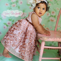 Nikita Baby Girl Dress - Photo prop - Special Occasion