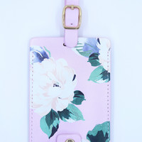Ban.do Getaway Luggage Tag - Pink Floral