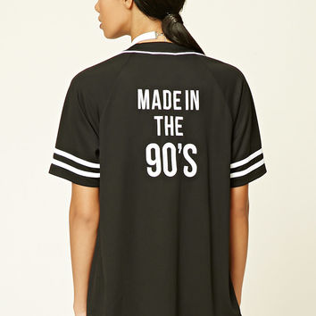 Made in the 90s Baseball Jersey