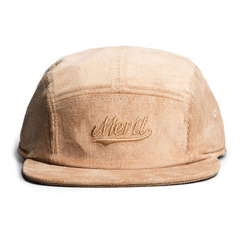 Merit Script 5-Panel (Tan Corduroy)