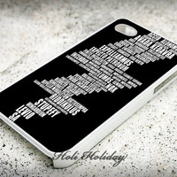 Harry Potter Spell Black - Print on hard plastic - iphone case - iphone 4 case - iphone 4s case - iphone 5 case - samsung case - iphone