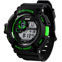 S Shock Men Military Army Watch Water Resistant Digital LED Sport Watch