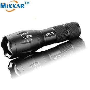 ZK30 Powerful Waterproof LED Flashlight Portable LED Camping Diving Lamp Torch Lights Lanternas Self Defense Tactical Flashlight