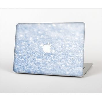 The Sparkly Snow Texture Skin Set for the Apple MacBook Air 11""