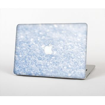 The Sparkly Snow Texture Skin Set for the Apple MacBook Pro 15""