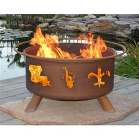 SheilaShrubs.com: Mardi Gras Fire Pit F120 by Patina Products: Fire Pits