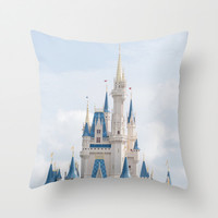 happiest place on earth Throw Pillow by studiomarshallarts