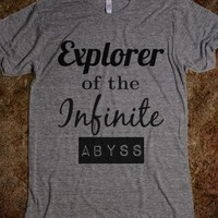Explorer of the Infinite Abyss Tee