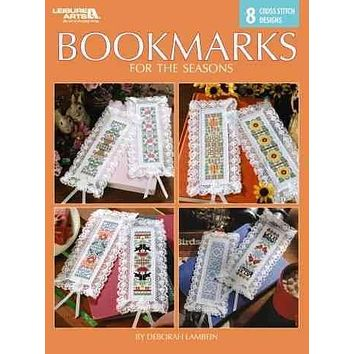 Bookmarks for the Seasons: 8 Cross Stitch Designs