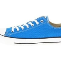 CONVERSE Chuck Taylor All Star Low Mens Shoes in Electric Blue (MEN 5/WOMEN 7)