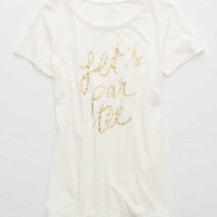 Aerie Real Soft® Graphic Tee, Soft Muslin