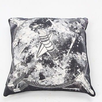 Swash Pillow Luna Silver Moon