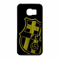 Barcelona FC Wood Samsung Galaxy S6 Case