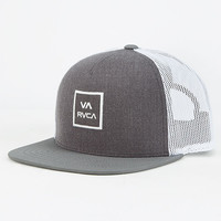Rvca Va All The Way Boys Trucker Hat Charcoal One Size For Women 26887011001
