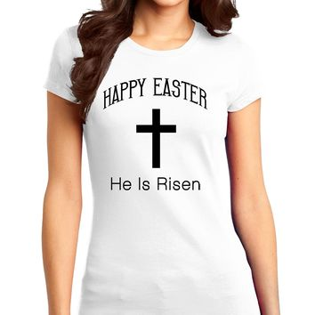 Easter Womens Juniors T-Shirt - Many Fun Designs to Choose From!