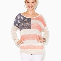 American Flag Pullover | Apparel | charming charlie