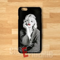 Marilyn Monroe Smoking Red Lips -tri for iPhone 4/4S/5/5S/5C/6/ 6+,samsung S3/S4/S5/S6 Regular,samsung note 3/4
