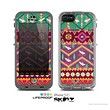 The Vector Aztec Birdy Pattern Skin for the Apple iPhone 5c LifeProof Case