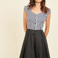 Maker of Merriment A-Line Dress | Mod Retro Vintage Dresses | ModCloth.com