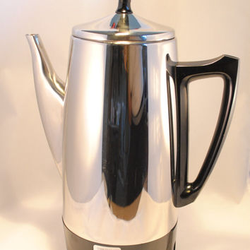 Coffee Percolator, Charlescraft Stainless Steel 12 cup Electric Coffee Percolator, Complete
