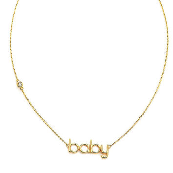 Nickname Baby Necklace