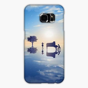 Your Lie In April Kaori Samsung Galaxy S7 Edge Case